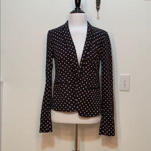 LOFT Polka Dotted Knit Blazer